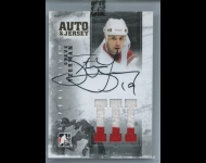 2012-13 ITG Superlative Jerseys Autographs Gold /10 Steve Yzerman