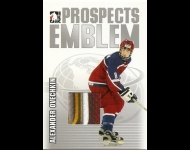 2004-05 ITG Heroes and Prospects Emblems /30 Alexander Ovechkin