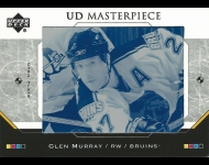 2005-06 Upper Deck Masterpiece Pressplates 1/1 Glen Murray