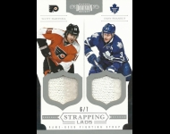 2011-12 Dominion Strapping Lads Duals /7 Phaneuf, Dion/Hartnell, Scott