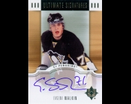 2007-08 Ultimate Collection Signatures Evgeni Malkin