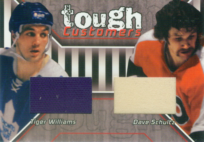 2001-02 BAP Update Tough Customers Schultz/Williams