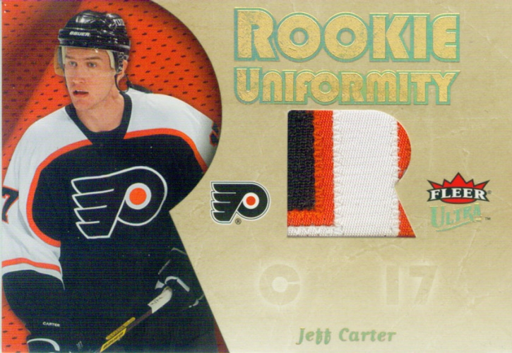 2005-06 Ultra Rookie Uniformity Patches /35 Jeff Carter