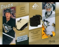 2008-09 SP Game Used Authentic Fabrics Duos Patches /25 Staal/Fleury