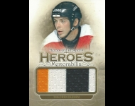 2012-13 ITG Heroes and Prospects Heroes Memorabilia Gold /10	 Theoren Fleury,