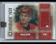 2012-13 ITG Superlative Jerseys Silver /30 Nicklas Lidstrom