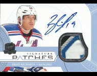 2011-12 The Cup Signature Patches /75 Richards, Brad