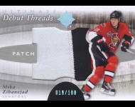 2011-12 Ultimate Collection Debut Threads Patches /100 Mika Zibanejad