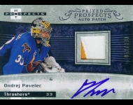 2007-08 Hot Prospects PP JSY AU RC /399 Ondrej Pavelec