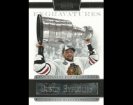 2011-12 Dominion Engravatures /10 Dustin Byfuglien