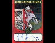 1997-98 SP Authentic Sign of the Times Patrick Roy