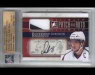 2011-12 ITG Ultimate Memorabilia Autograph Patches /9 Alexander Ovechkin