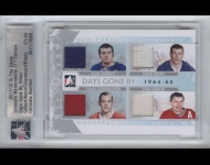2011-12 ITG Ultimate Memorabilia Days Gone By 1964-65 /24 Gilbert/Keon/Cournoyer/Mikita