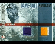 2006-07 Between the Pipes Emblems /10 J-S Aubin