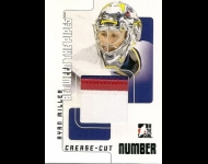 2007-08 Between The Pipes Numbers Emerald 1/1 Ryan Miller