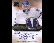 2011-12 The Cup Gold Rainbow JSY AU/30 Ben Scrivens