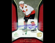 2006-07 SP Game Used Autographs /10 Dionne Phaneuf