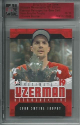 2012-13 ITG Ultimate Hot Packs /10 Steve Yzerman
