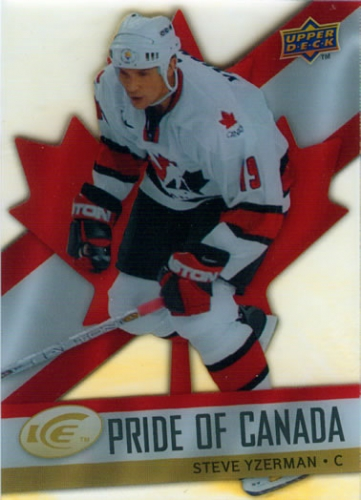2008-09 Upper Deck Ice Pride of Canada Steve Yzerman