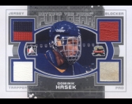 2011-12 Between The Pipes Full Gear Silver /19 Dominik Hasek
