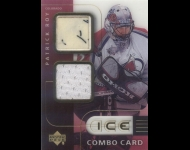 2001-02 UD Ice Jersey Combos Patrick Roy