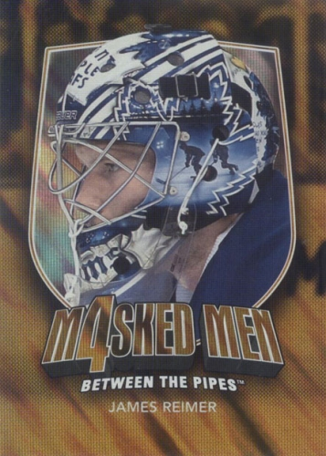 2011-12 BTP Masked Men iV Gold  /10 James Reimer