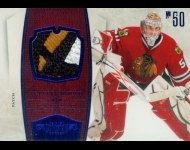 2010-11 Dominion Jerseys Prime Patch /25 Corey Crawford