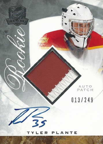 2008-09 The Cup JSY AU RC /249 Tyler Plante