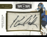 2011-12 Dominion Tape to Tape Autographs /20 Jaroslav Halak