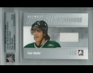 2007-08 ITG Ultimate Memorabilia First Rounders /24 Peter Mueller