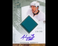 2008-09 The Cup JSY AU RC /249 Andrew Ebbett